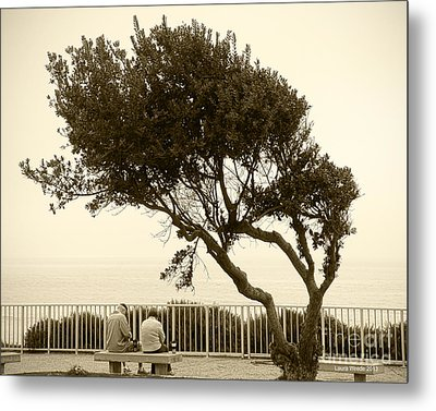 Morning Coffee Together Metal Print