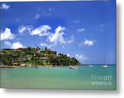 Naguabo Shoreline Metal Print by Thomas R Fletcher