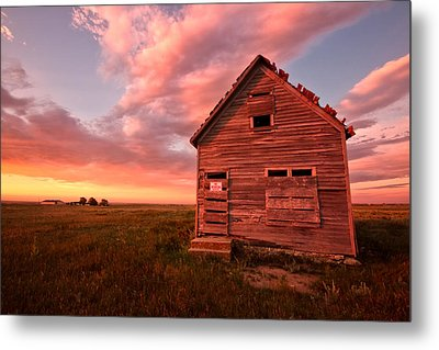 Metal Print featuring the photograph  No Trespassing by Ronda Kimbrow