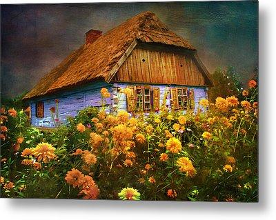 Old House... Metal Print by Andrzej Szczerski