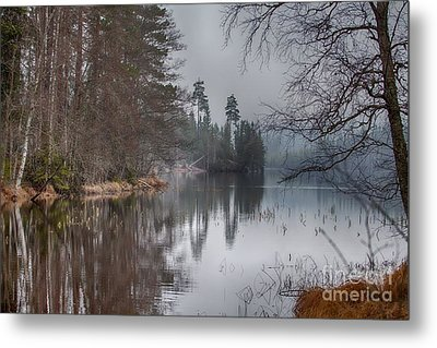 Metal Print featuring the photograph  One Solemn Spring In May by Rose-Maries Pictures