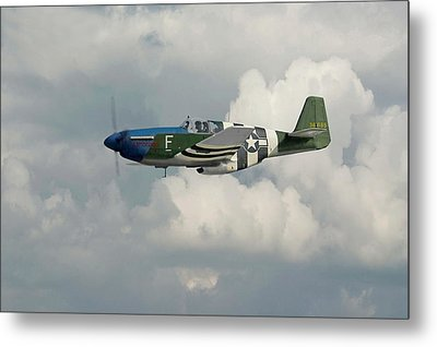 P51 Mustang Gallery - No1 Metal Print by Pat Speirs
