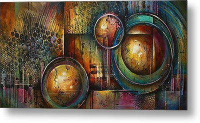 ' Remaining Elements' Metal Print by Michael Lang