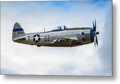 Republic P-47d Thunderbolt Metal Print by Puget  Exposure