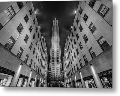 Rockefeller Center - New York - Usa 2 Metal Print