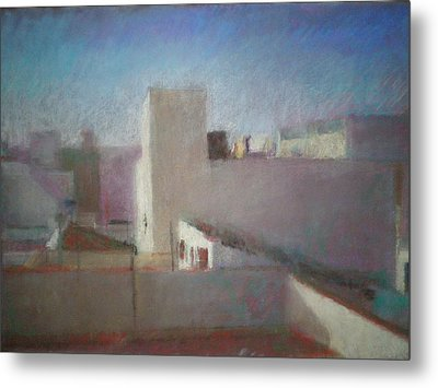 Roofs First State Metal Print by Paez  ANTONIO