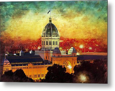 Royal Exhibition Building Metal Print
