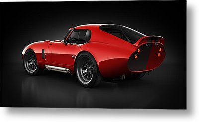 Shelby Daytona - Red Streak Metal Print by Marc Orphanos
