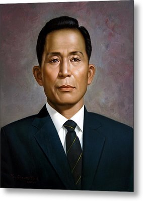 South Korea's President Park Chung-hee Metal Print by Yoo Choong Yeul