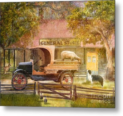 Stay Right There  Metal Print by Trudi Simmonds