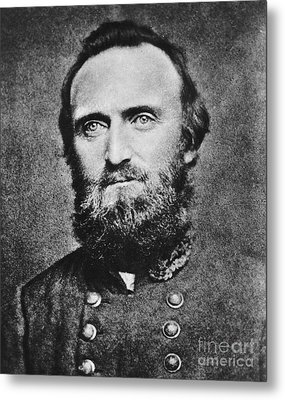 Stonewall Jackson Metal Print by Anonymous