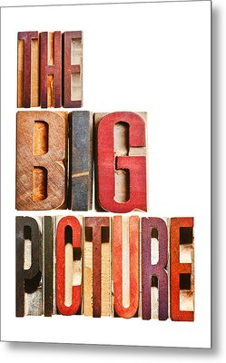The Big Picture Metal Print by Donald  Erickson