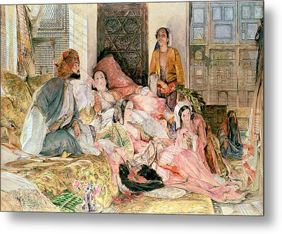 The Harem Metal Print