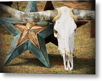 The Heart Of Texas Metal Print