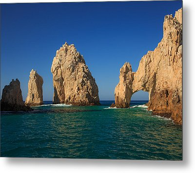 The Sea Arch El Arco De Cabo San Lucas Metal Print