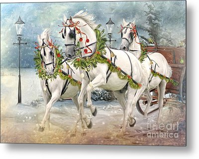 Tis' The Season Metal Print by Trudi Simmonds