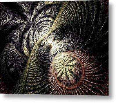 Trilobite Trail Metal Print by Anastasiya Malakhova