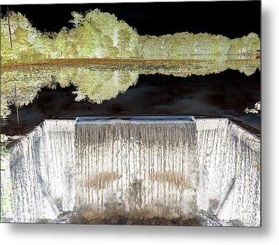 Waterfall 1 Metal Print by Dietrich ralph  Katz