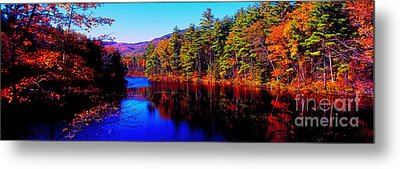 White Mountians National Park Red Eagle Pond New Hampshire Metal Print