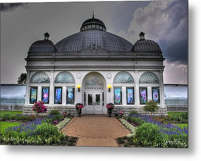 001 Buffal And Erie County Botanical Gardens Metal Print