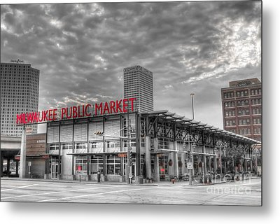 0038 Milwaukee Public Market Metal Print
