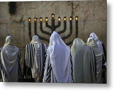 007 Jerusalem Metal Print by Alex Kolomoisky