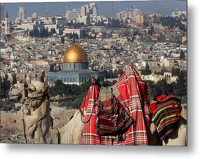 014 Jerusalem Metal Print by Alex Kolomoisky