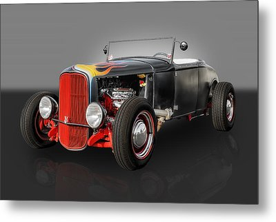 1930 Ford Roadster Metal Print by Frank J Benz