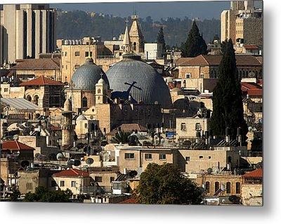 015 Jerusalem Metal Print by Alex Kolomoisky