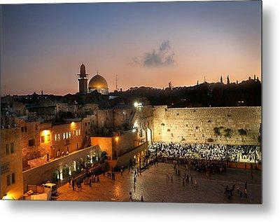 017 Jerusalem Metal Print by Alex Kolomoisky