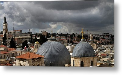 020 Jerusalem Metal Print by Alex Kolomoisky