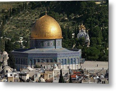 021 Jerusalem Metal Print by Alex Kolomoisky