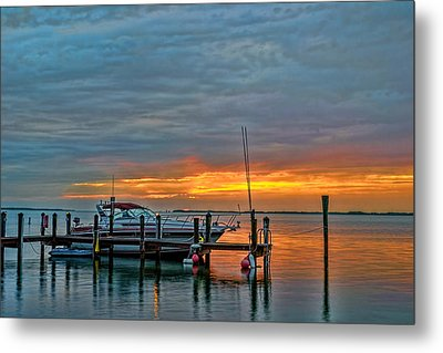 0255-key-largo Metal Print