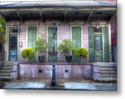 0267 French Quarter 5 - New Orleans Metal Print by Steve Sturgill
