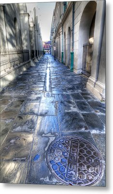 0270 French Quarter 2 - New Orleans Metal Print by Steve Sturgill