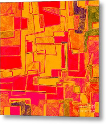 0275 Abstract Thought Metal Print by Chowdary V Arikatla