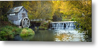 0291 Hyde's Mill Wisconsin Metal Print by Steve Sturgill
