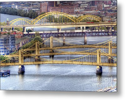 0307 Pittsburgh 8 Metal Print by Steve Sturgill