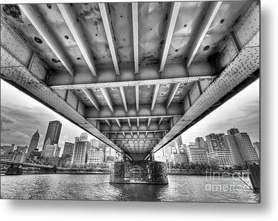 0308 Pittsburgh 5 Metal Print by Steve Sturgill