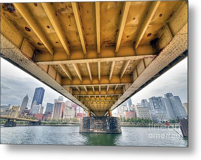0309 Pittsburgh 4 Metal Print by Steve Sturgill