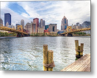 0310 Pittsburgh 3 Metal Print by Steve Sturgill