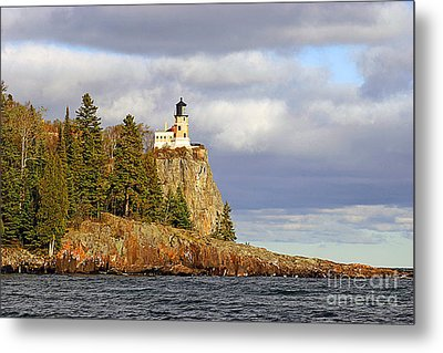 0376 Split Rock Lighthouse Metal Print