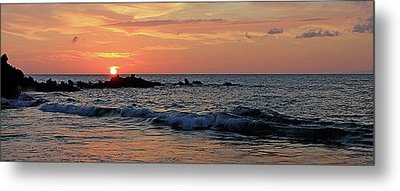 0581 Maui Sunset 2 Metal Print
