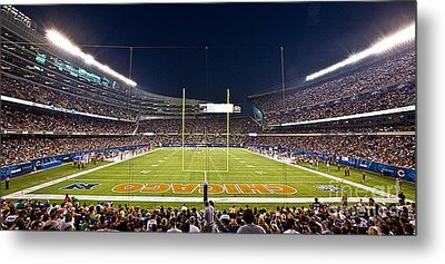 0587 Soldier Field Chicago Metal Print by Steve Sturgill
