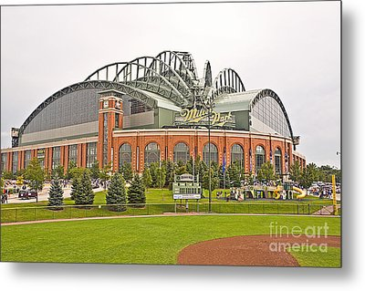 0622 Milwaukee's Miller Park Metal Print