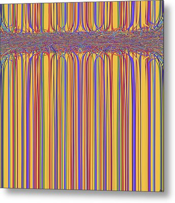 0699 Abstract Thought Metal Print by Chowdary V Arikatla