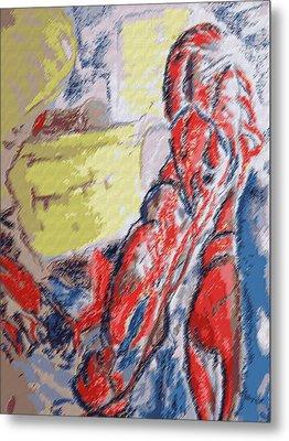073114 Crawfish.jpg Metal Print by Garland Oldham
