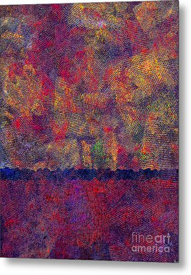 0799 Abstract Thought Metal Print