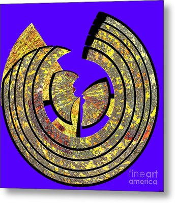 0985 Abstract Thought Metal Print by Chowdary V Arikatla