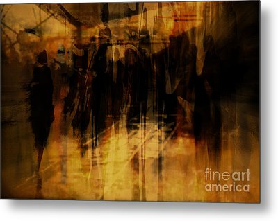 Metal Print featuring the digital art . by Danica Radman